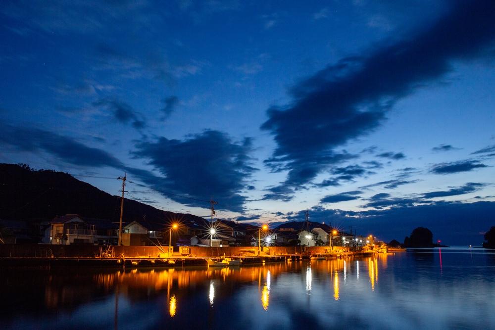 漁港の朝(日和佐)