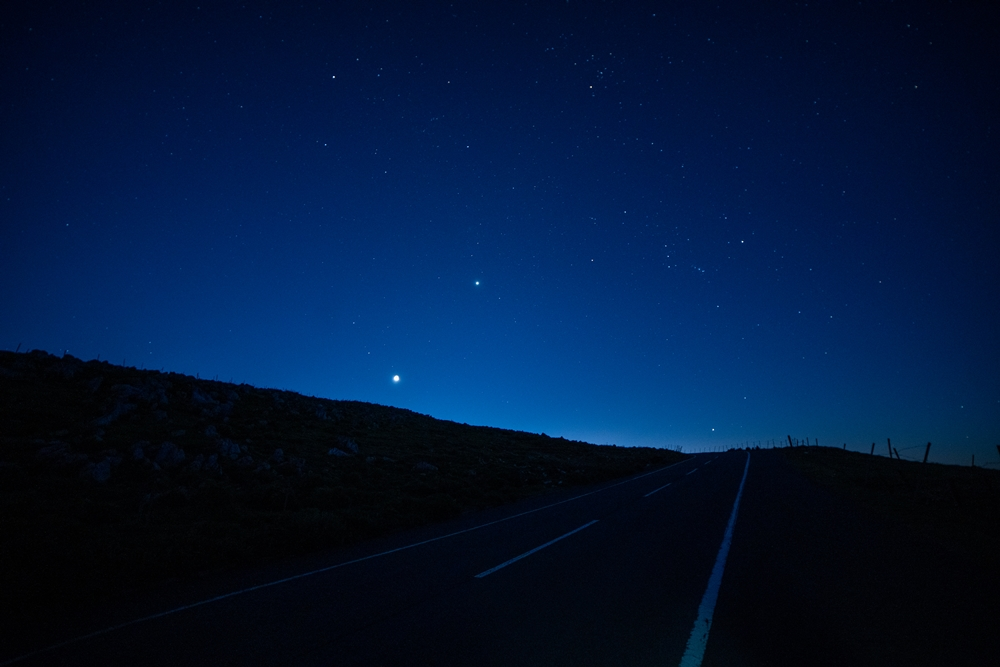 オリオン座の夜明け