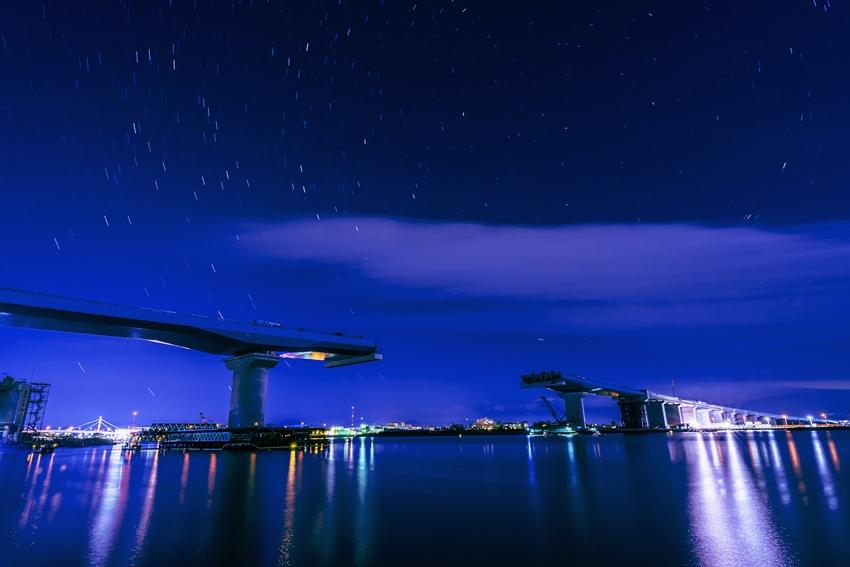 四国横断自動車道(仮)吉野川大橋