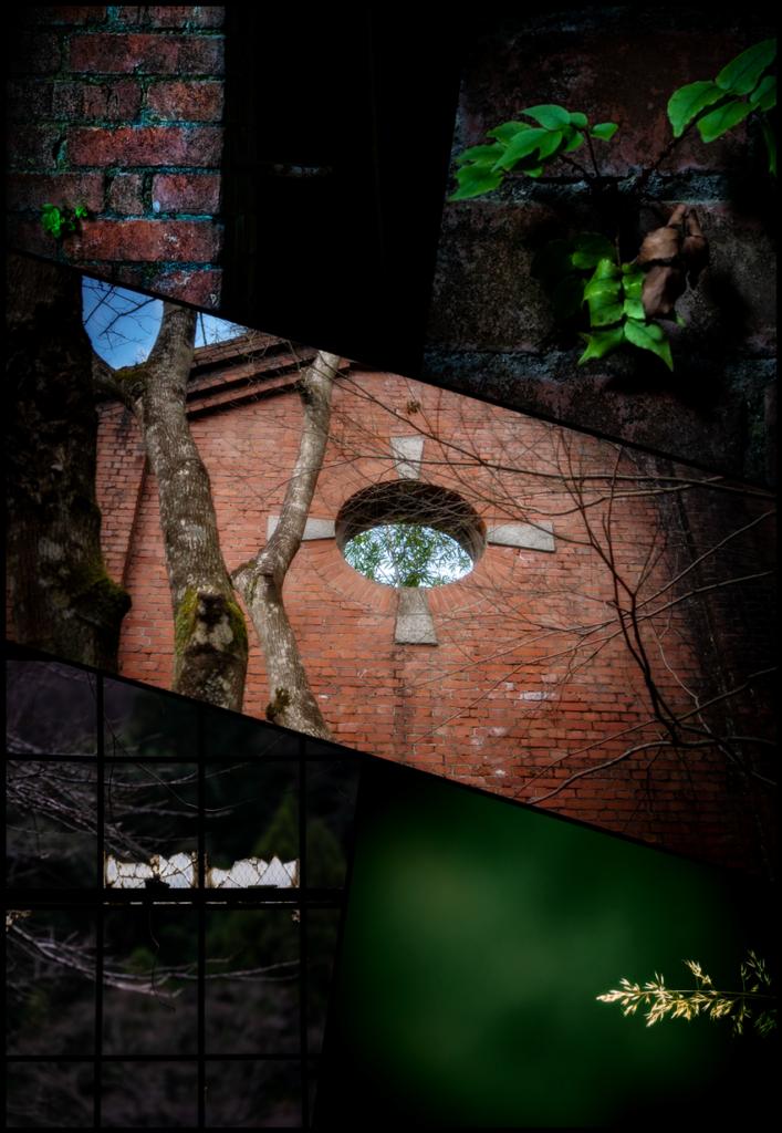 旧三繩発電所 廃墟5枚組