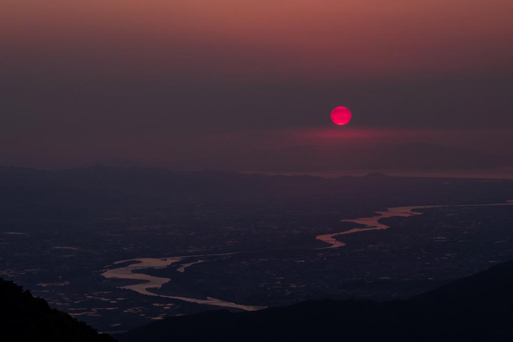 立石峠の日の出