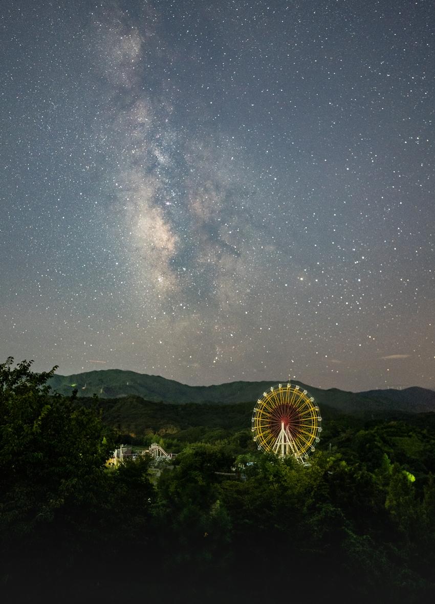 夜の徳島市総合動植物公園